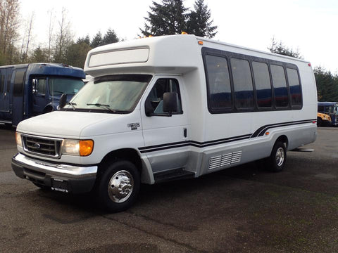 Private shuttle for 24 passengers shuttle bus $680 one way