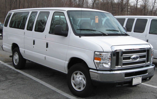 Single Road Trip To Kamloops Private Charter Van For 10 passengers - Ford Van E-350