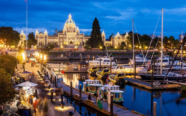 Victoria one day tour: Visit British Columbia Parliament Buildings