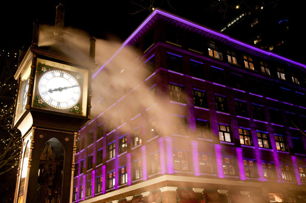 Vancouver one day tour: Gastown, the world-famous, Oldest Steam Clock