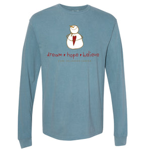 CURE Holiday Shirt: Ice Blue