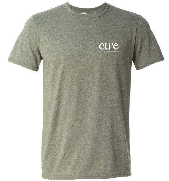 Heather Green CURE T-Shirt
