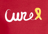 CURE Whimsy Ribbon Adult T-Shirt