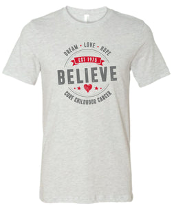 2021 CURE Believe T-Shirt