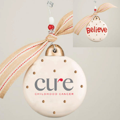 Believe Puff Ornament