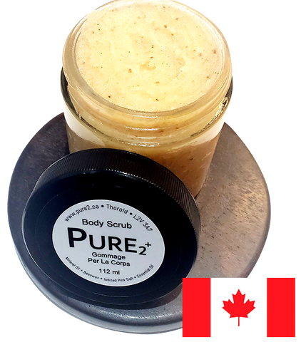 PURE2 Body Scrub