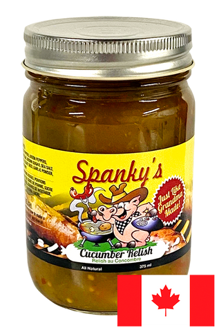 Spanky's All Natural Cucumber Relish