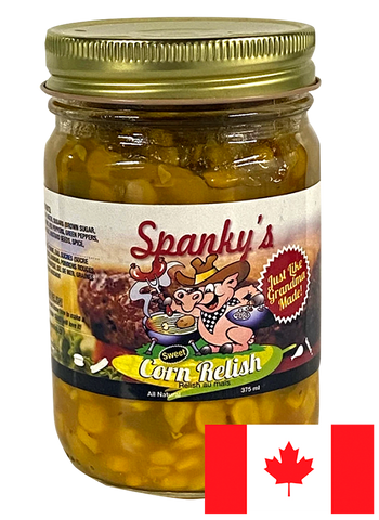 Spanky's Sweet Corn Relish Jar
