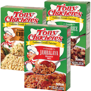 Tony Chachere's Dinner Mixes