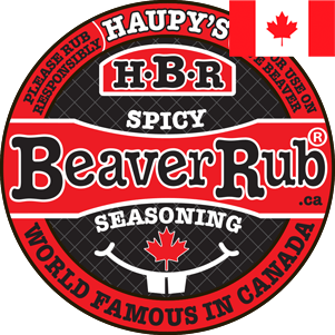 HBR Spicy Beaver Rub Seasoning Container