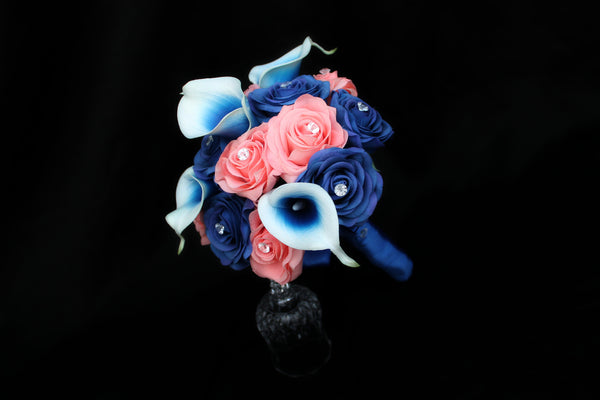 Rose & Calla Lily Bridesmaids Bouquet