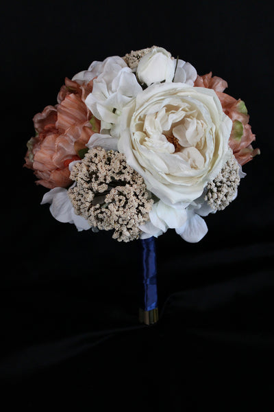 Peony and Orchid Wedding Bouquet Collection