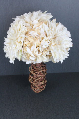 Beautiful Ivory Hydrangea Bouquet Collection