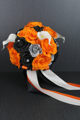 Harley Davidson Style Wedding Bouquet Collection