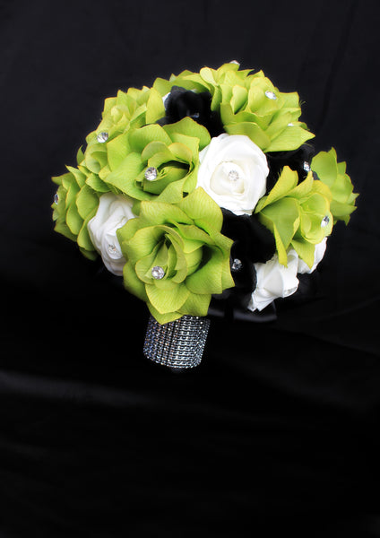 Lime Green Brides Bouquet