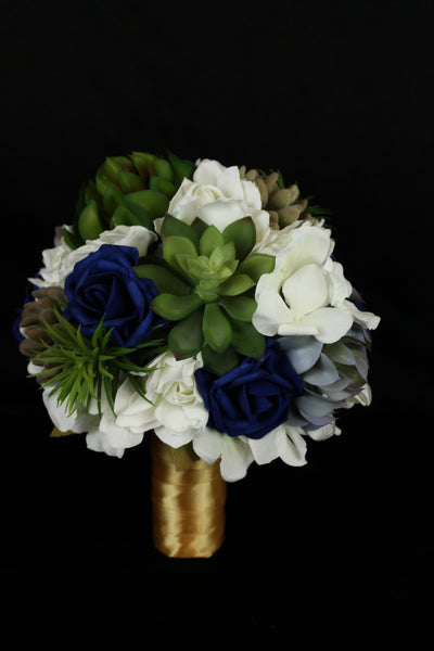 A Succulent Brides Bouquet