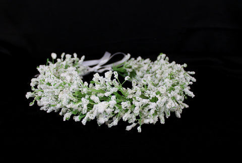 Baby's Breath flower crown