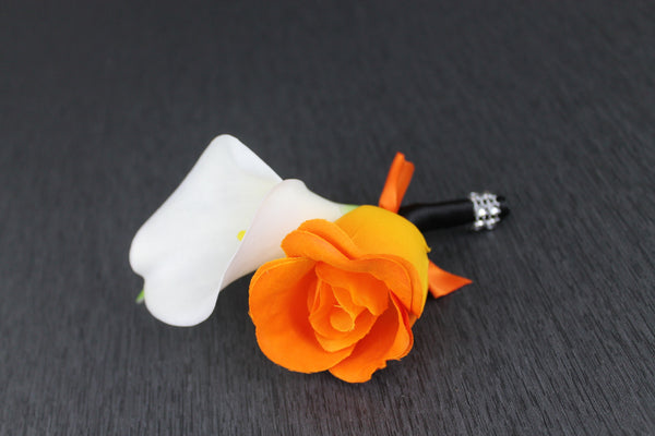 Harley Davidson Style Boutonniere