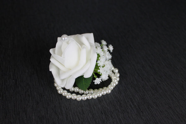 Rose & Baby's Breath Corsage