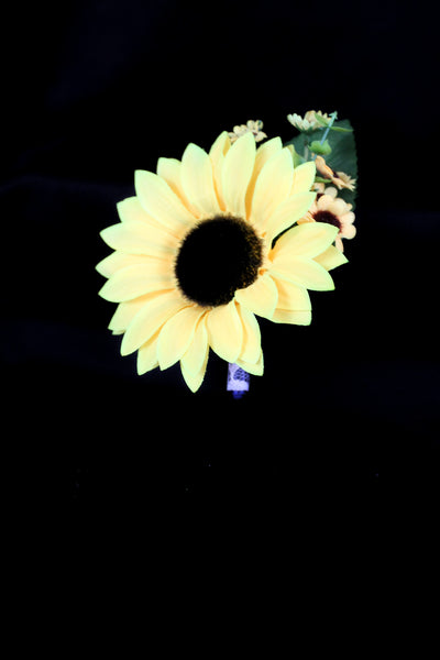 Sunflower Pinned Corsage