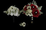 A Winter Wedding Brides Bouquet