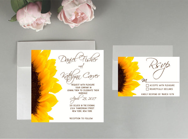 Custom Invitation Order For Carly Crockett
