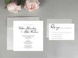 Angelique Wedding Invitation