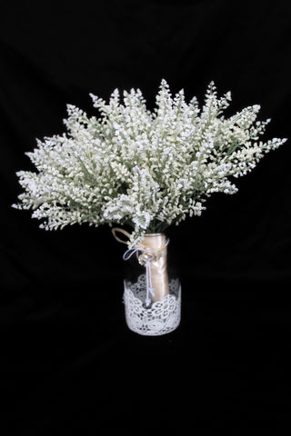 baby's breath centerpiece, wedding centerpiece, table centerpiece