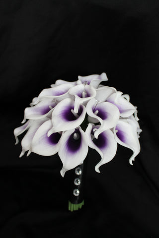 calla lily wedding bouquet, real touch calla lily bouquet, bridal bouquet, calla lily wedding bouquet