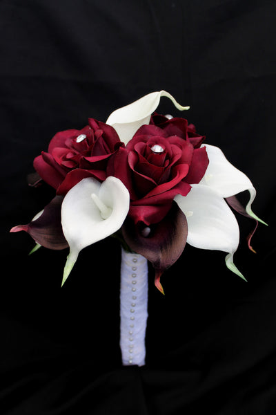Calla Lily & Rose Brides Bouquet