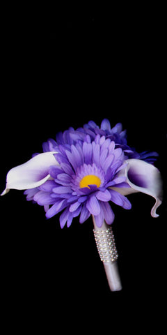 Beautiful Daisy and calla lily Jr Bouquet