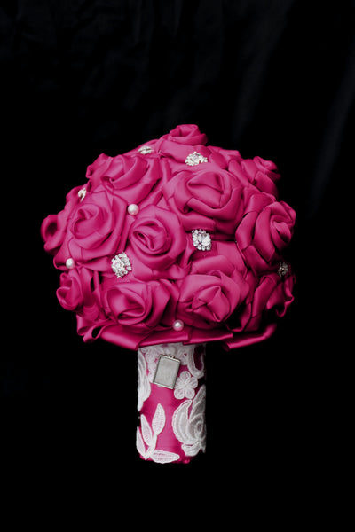 Pink Ribbon Brides Bouquet