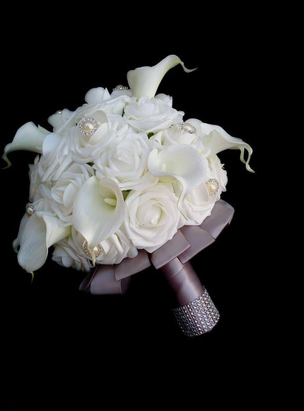 Rose & Calla Lily Brides Bouquet