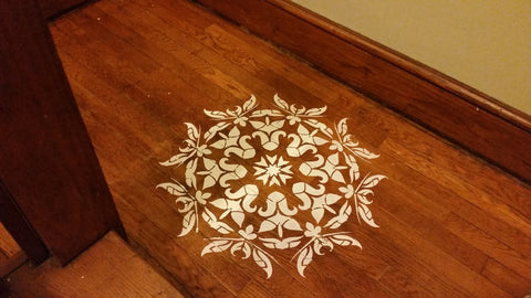 Have You Ever Stenciled Your Floor Or Walls If So Do Tips Wed Love To Hear Them
