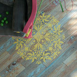 Mandala Stencil - Floor Decor Stencil - Wall Painting Stencils - Decorative Medallion Stencil