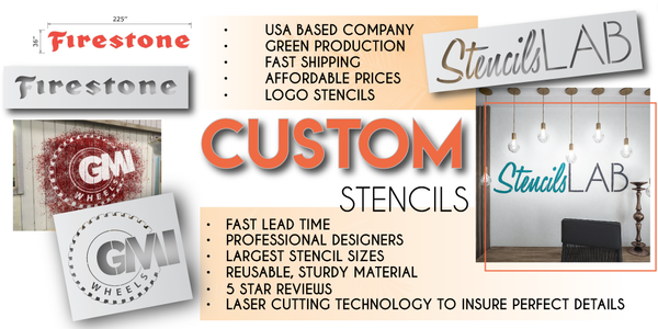 Custom Stencils For Your Project | StencilsLAB