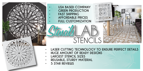 StencilsLAB | Best decorative Wall Stencils