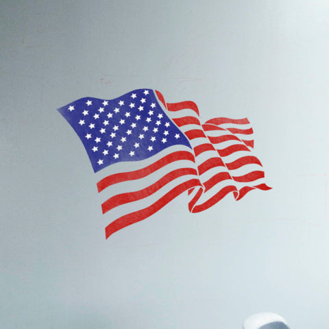 Independence Day Decorations - 4th of July Decor - Independence Day Stencil - American Flag Stencil - United Stetes Of America Flag - Stencil