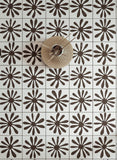 Chamomile Tile Stencils Kit - Stencils For DIY tile makeover - StencilsLab Wall Stencils