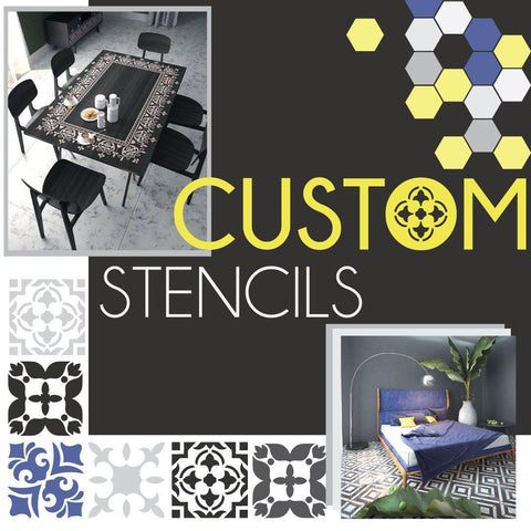 Custom Made Stencils - StencilsLab Wall Stencils