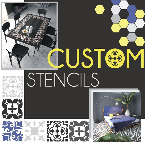 Custom Order for Anthony Galluzzo-StencilsLAB Wall Stencils