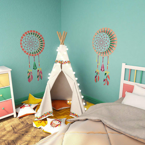 ... Dream Catcher Wall Stencil   Kids Room Decor Stencil   Dream Catcher  Stencil For Wall Decor ...