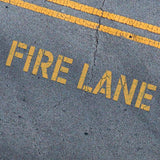 Fire Lane Stencil - Parking Lot Stencils - Industrial Stencils--StencilsLab Wall Stencils