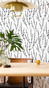 FLORRIE - Floral Allover Wall Decor Stencil - Botanical Design Wall Stencils-StencilsLAB Wall Stencils