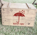 Keep Dry Stencil - Shipping Stencils - Industrial Stencils--StencilsLab Wall Stencils