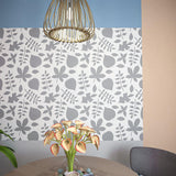 Loreley - Floral Wall Stencil - Reusable stencil for painting - StencilsLab Wall Stencils
