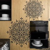 Mandala Stencil - Mandala Motive Wall Stencil - Original And Unique Wall Stencil - StencilsLab Wall Stencils