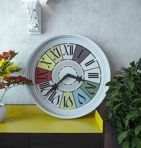 Modern Clock Stencil - Clock Stencil - Furniture & Wall Stencil -Farmhouse Clock - StencilsLab Wall Stencils