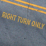 Right Turn Only Stencil - Parking Lot Stencils - Industrial Stencils--StencilsLab Wall Stencils