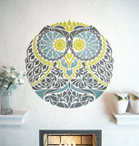 Awesome Symmetrical Stencil - Unique Design Stencil - Mandala Style Stencil - Zendala - Zentangle Design